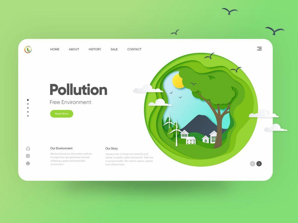 website design in branding